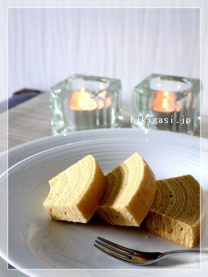 カカオシュトゥーベ カット 美味しい 引菓子