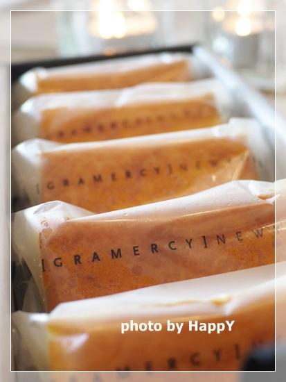 グラマシーニューヨーク チーズケーキ 箱オープン